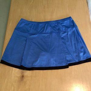 🎉 3 for $20🎉 Bolle blue and black tennis skort